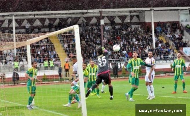 Urfaspor'dan tehlikeli sonuç...