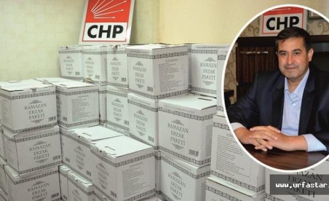 CHP Karaköprü Teşkilatından yardım eli