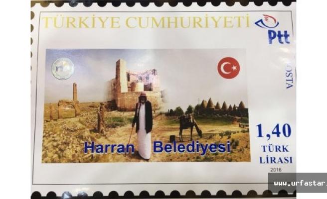 Harran posta pullu ile dünyaya tanıtılıyor