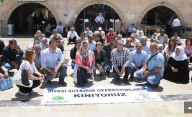 HDP'lilerin tutuklanması protesto edildi