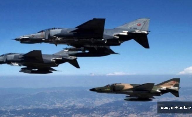 PKK'ya gece yarısı bomba yağdı