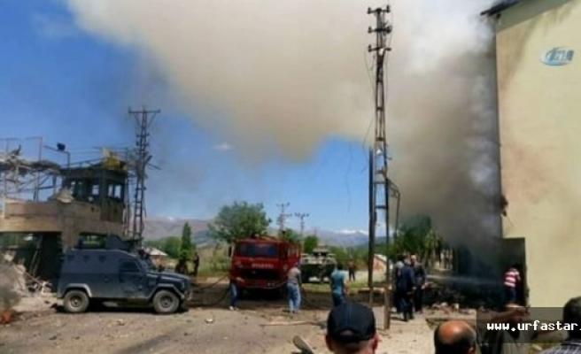Tunceli'de büyük patlama
