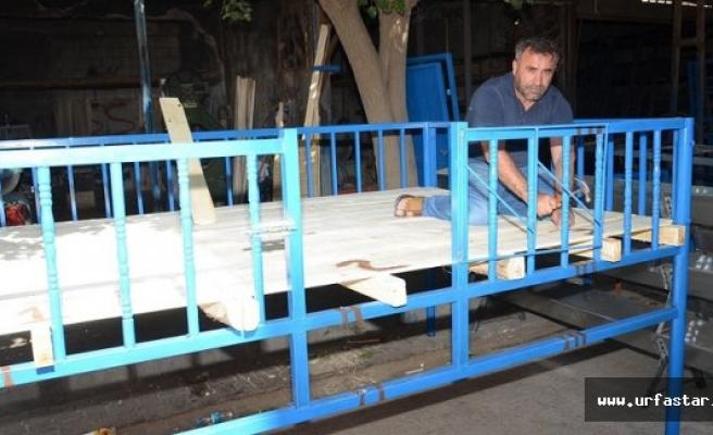 Urfa'da dam palas sezonu açıldı