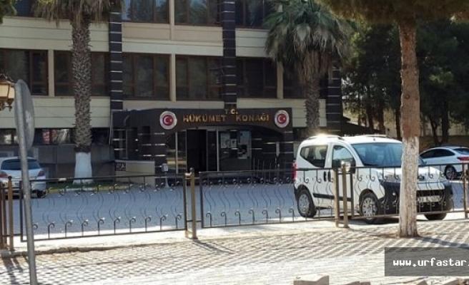 Akçakale'de savcı ve eşi gözaltına alındı