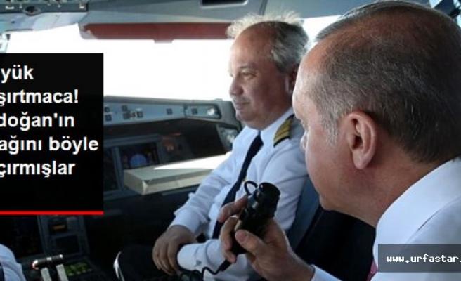 Erdoğan'ın uçağını böyle kaçırdılar!...