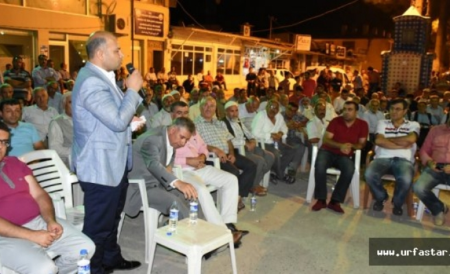 Hilvan'da demokrasi nöbeti sürüyor