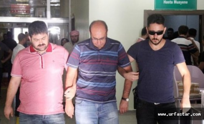 Urfa'da darbeciler sağlık kontrolünden geçti
