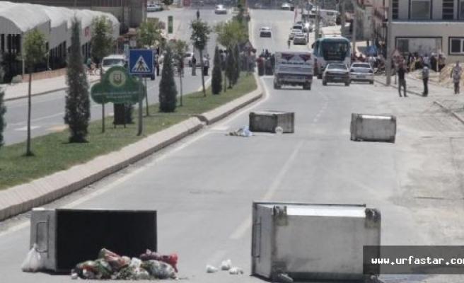 Urfa'da su kesintisi protestosu