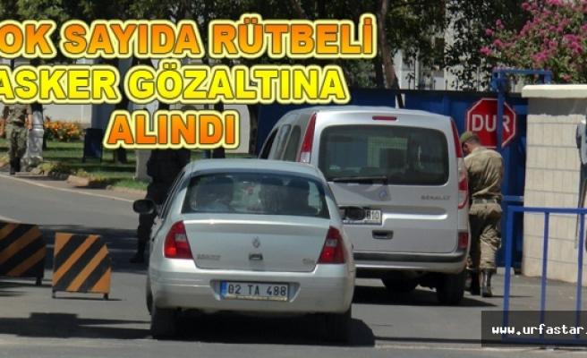 Urfa'da Tugay ve Jandarmaya polis baskını...