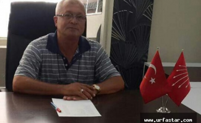CHP Urfa cephesinde flaş gelişme...