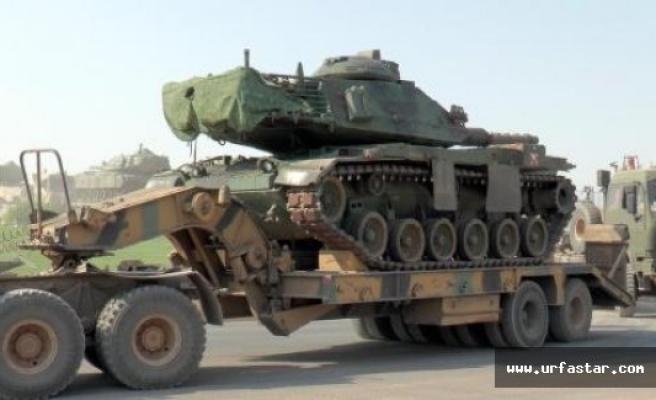 Urfa'dan sınıra askeri sevkiyat...