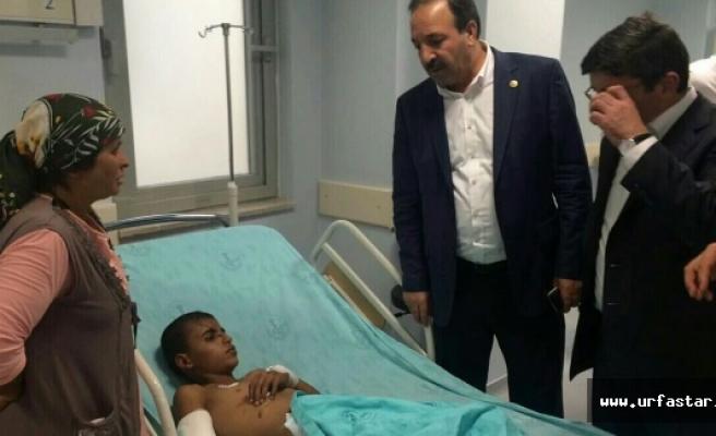 Urfa vekili Gaziantep'in acısını paylaştı