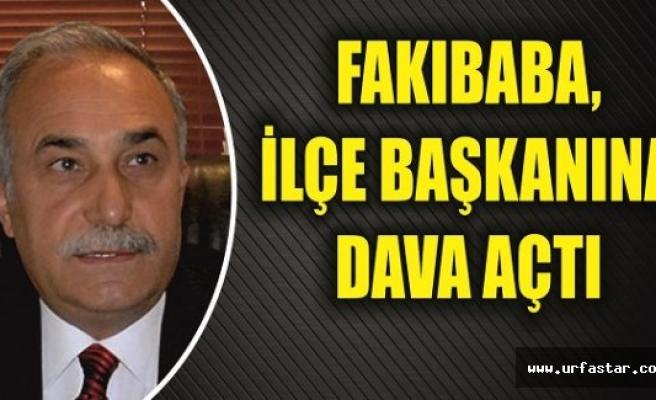 Fakıbaba'dan suç duyurusu...