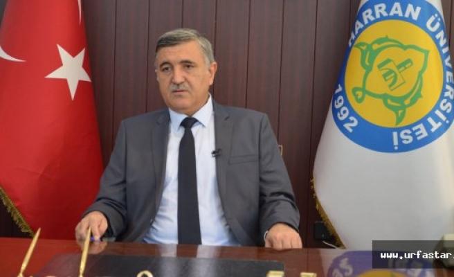 Rektör Taşaltın'dan kutlama