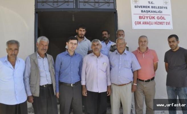 Siverek Belediyesi Kırsalda ki hizmetlere devam ediyor