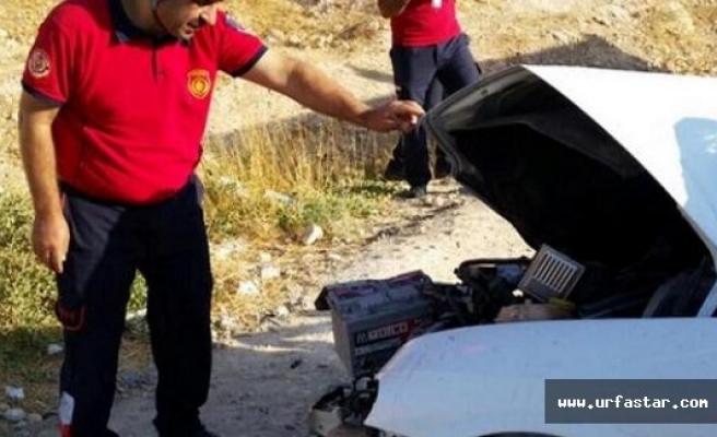 Antep yolunda trafik kazası...
