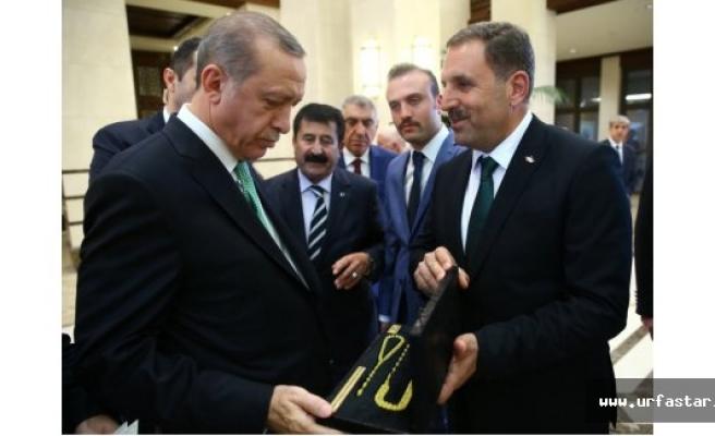 Erdoğan Urfa'dan kimleri kabul etti?
