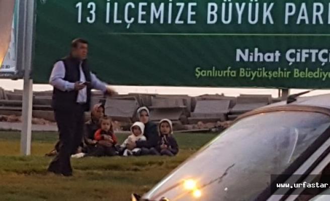 URFA Belediyesi dilenci avına çıktı