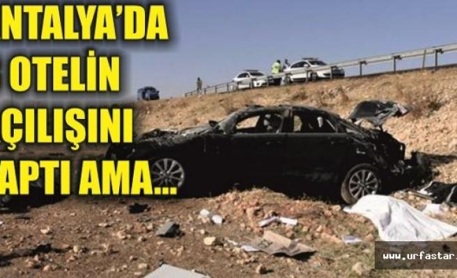Urfa'da hayatını kaybetti...