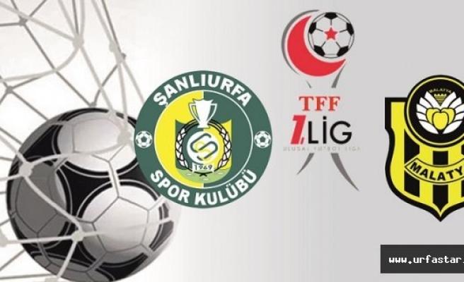 Urfaspor-Yeni Malatyaspor maçıyla ilgili flaş gelişme...