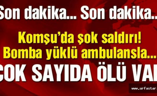 Ambulansla saldırdılar onlarca ölü var!...