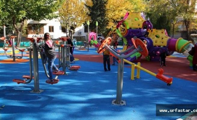 Haliliye'de parklar artık daha güvenli