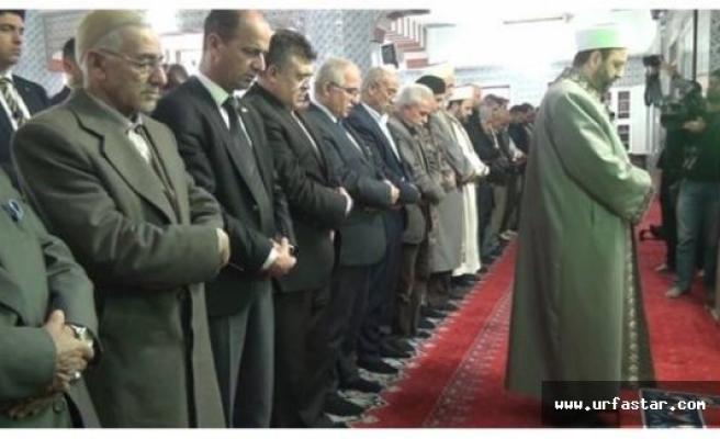 Urfa'da, Şehitler için gıyabi cenaze namazı kılındı