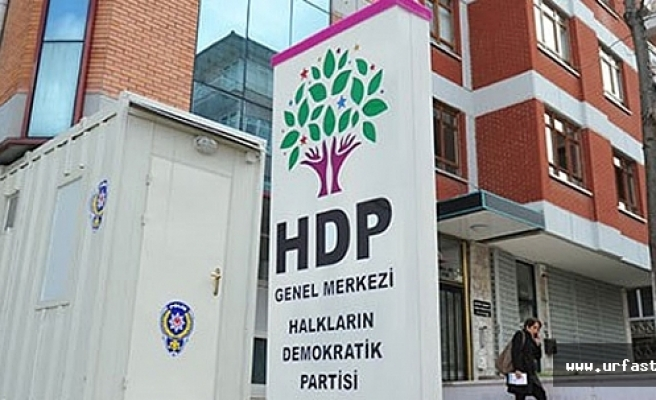 HDP'li 2 vekile genel merkez önünde gözaltı