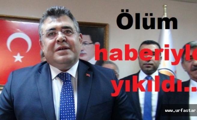 Urfa Emniyet Müdürü'nün en acı günü!..