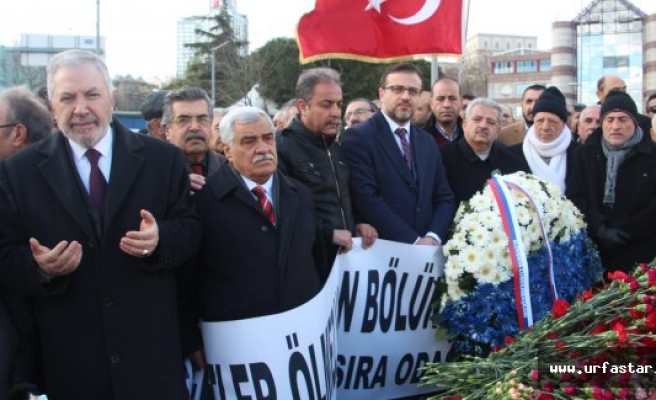 Urfalılar İstanbul'da PKK'yı kınadılar...