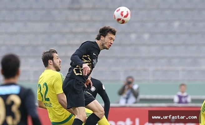 Urfaspor ilk mağlubiyetini aldı