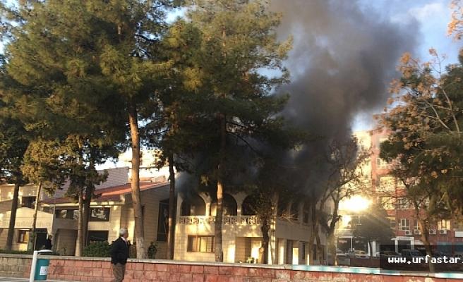 Sonradan Tarihi yaptırılan binada yangın