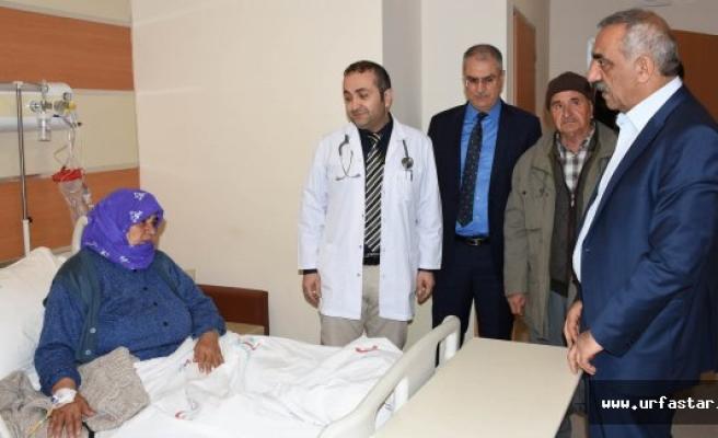 Başkan Bayık'tan hastalara ziyaret