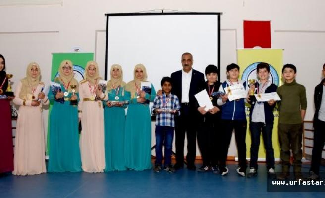 8. Uluslararası Arapça Yarışmaları Hilvan'da Yapıldı