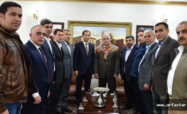 Türkmen birliğinden Vali Tuna'ya ziyaret