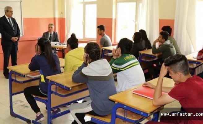 Başkan Demirkol, spor lisesinde gençlerle buluştu