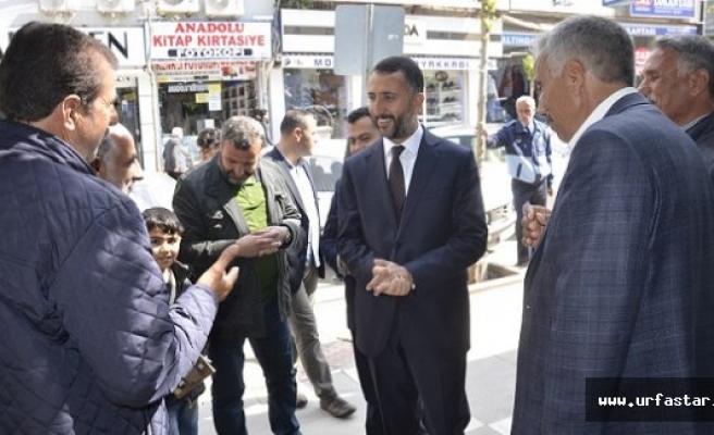 Başkan Yılmaz, Siverek halkına teşekkür etti