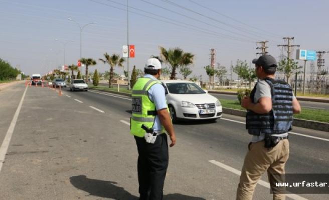 Suruç'ta güvenlik  önlemleri arttı