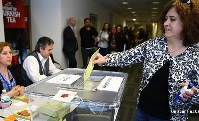 Urfa'da oy verme işlemleri başladı