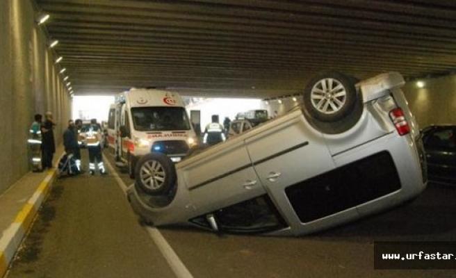 Urfa'da inanılmaz kaza!