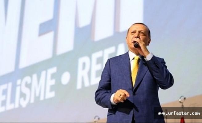 Erdoğan ikinci kez Genel başkan
