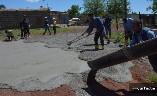 Siverek Belediyesinin yol çalışmaları devam ediyor