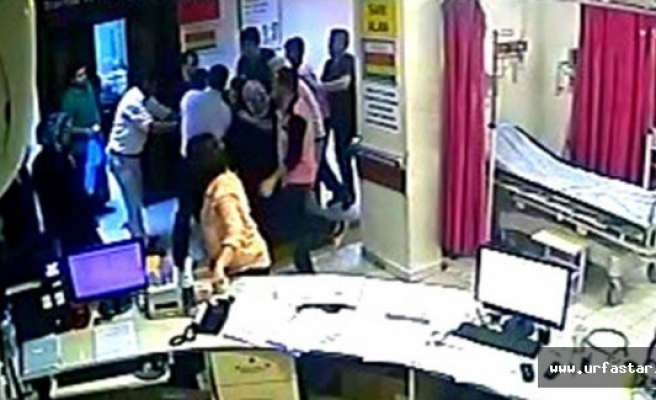 Urfa'da devlet hastanesi karıştı