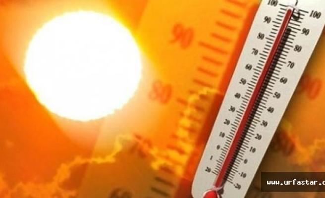 Urfa'da sıcaklık tavan yapacak