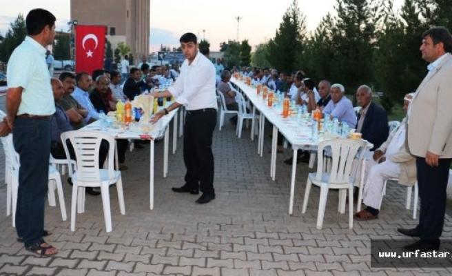 Ayhan'dan muhtarlara iftar