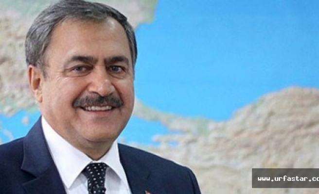 Bakan Eroğlu Urfa'ya geliyor