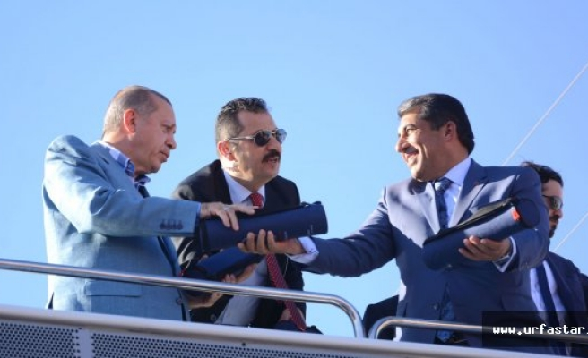 Erdoğan Atilla'yı övdü...