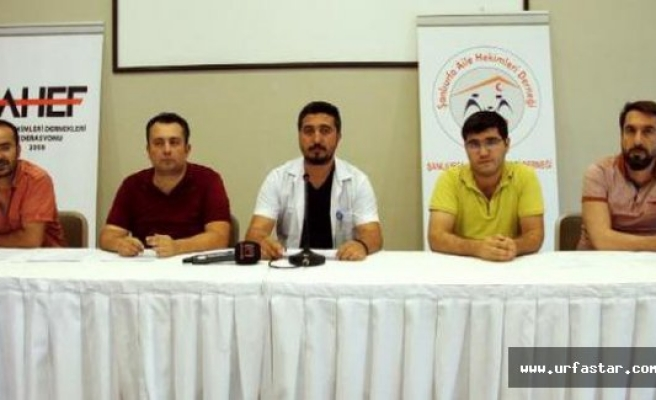 Urfa'da bir doktor daha darp edildi