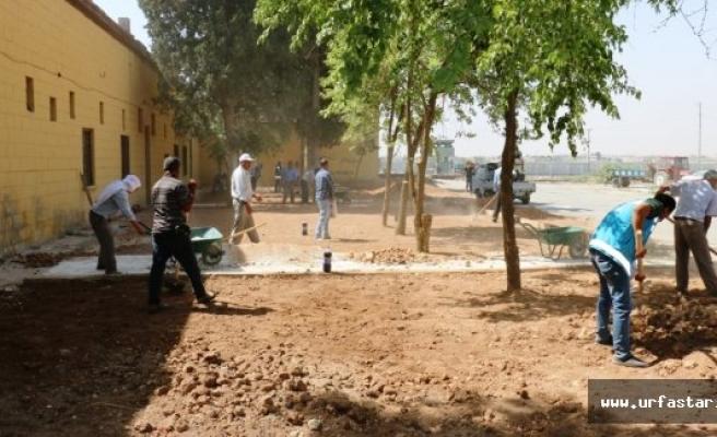 Akçakale'ye 4 bin metrekarelik yeni park