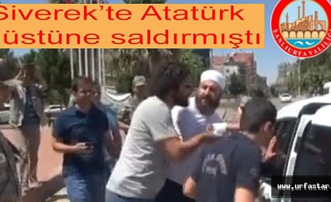 Atatürk Büstüne saldıran zanlı hakkında flaş gelişme